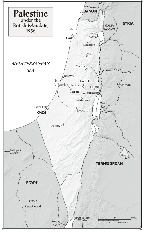 "Palestine under the British Mandate, 1936. From ""Children of the Stone"" (Bloomsbury, 2015)"